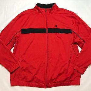 Champion Double Dry Full Zip Track Jacket